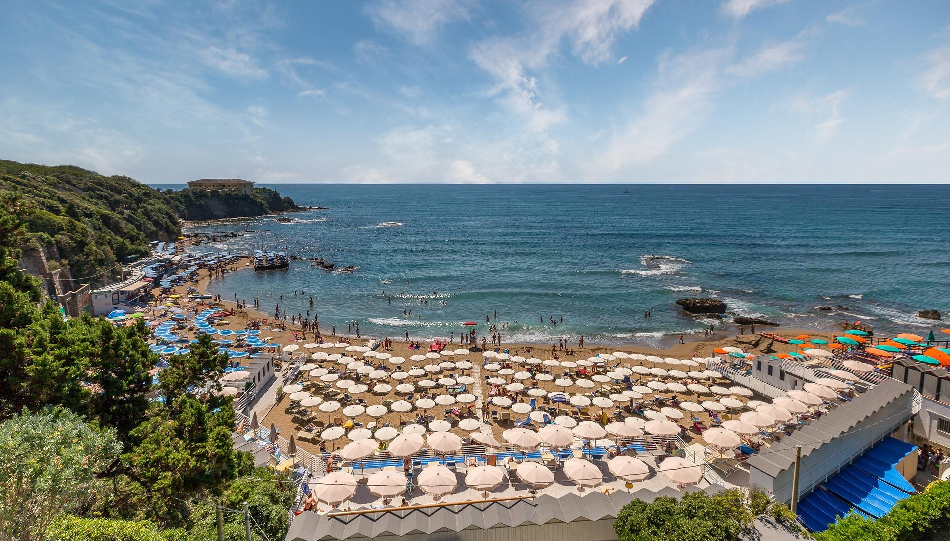Spiagge bianche Castiglioncello